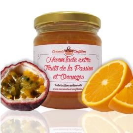 Confiture Fruits de la Passion et Oranges